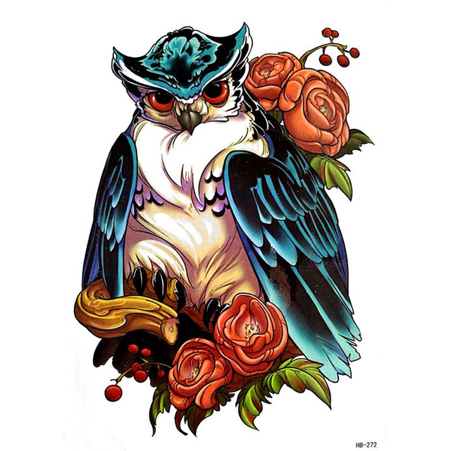 Us 10 17 Offduży Pająk Wąż Scorpion Owl Arm Rękawy Tatuaże Dla Mężczyzn Totem Fałszywy Pokrywa Nogi Tymczasowe Tatuaż Naklejki 2017 Nowe Wzory Hb