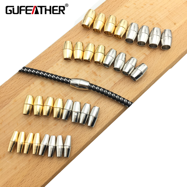 GUFEATHER K05/10MM jewelry accessories/accessories parts/connector/jewelry findings/clasp/magnetic clasps/embellishments