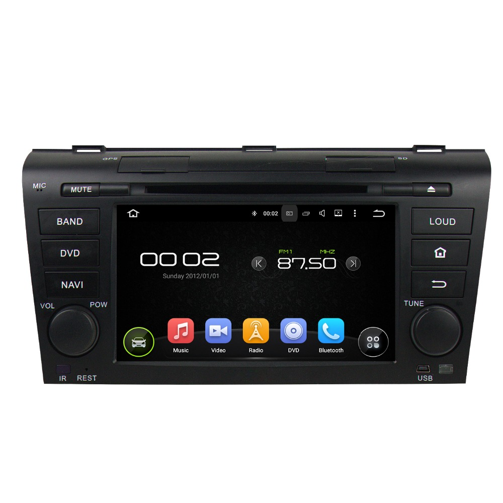 "KLYDE 7"" 2 Din 8 Core Android 8.0 For MAZDA 3 2004-2009 Car Radio 2+16GB 4+32GB 4+64GB Multimedia Player Audio Stereo 1024*600"