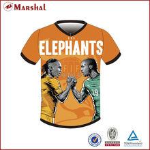 Nuevo diseño Sulbimation impresión tailandés calidad camiseta de fútbol  2019 nuevo estilo Original de sublimación personalizado . 01ba3eb8d2205