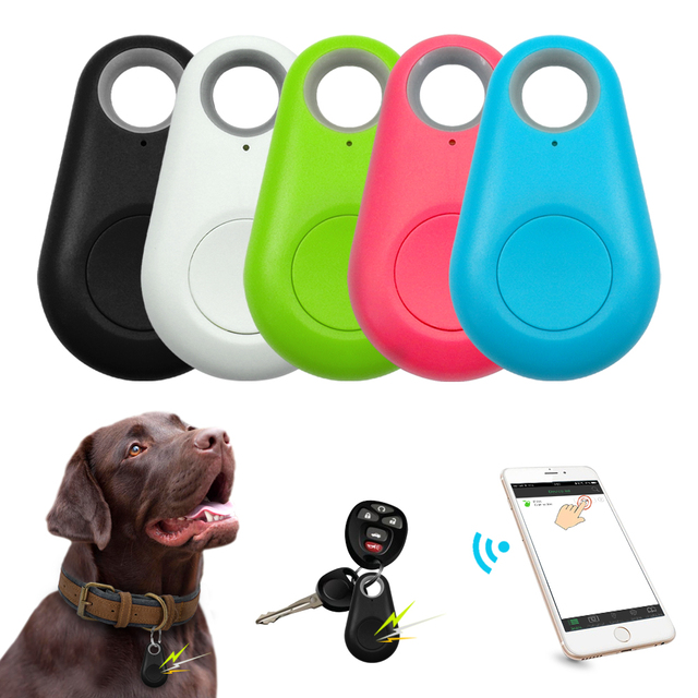 Pet Smart GPS Tracker Mini Anti-Lost Waterproof Bluetooth Pet Locator Dog Cat Children