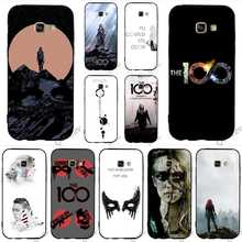 Shockproof Heda Lexa The 100 TV Show Phone Cover for Samsung Galaxy S7 Case A3 A6 A5 S6 Edge S8 S9 Plus Note 8 9 Covers Back