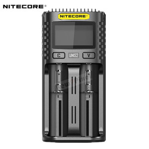 Image 3 - NITECORE UMS4 UMS2 SC4 Intelligent Faster Charging Superb Charger with 4 Slots Output Compatible 18650 14450 16340 AA Battery