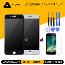 цена на 100% AAAAA OEM Original LCD Screen For iPhone 7 7 Plus Screen 8 8 Plus LCD Display Digitizer Touch Module Screen Replacement