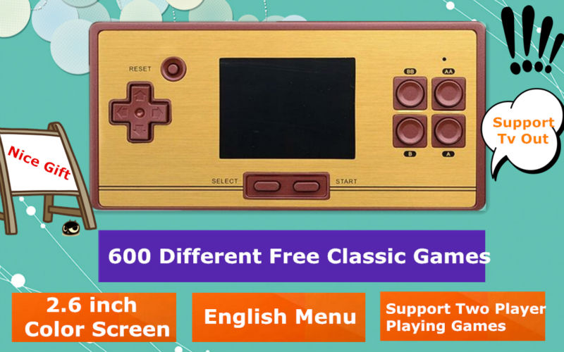 600 game console AD