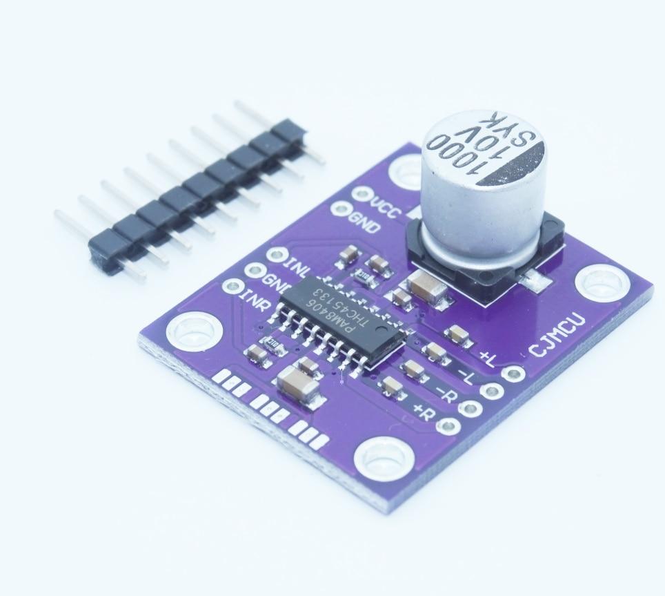 CJMCU-8406 PAM8406 Stereo Class D Audio Power Amplifier Module Development Board