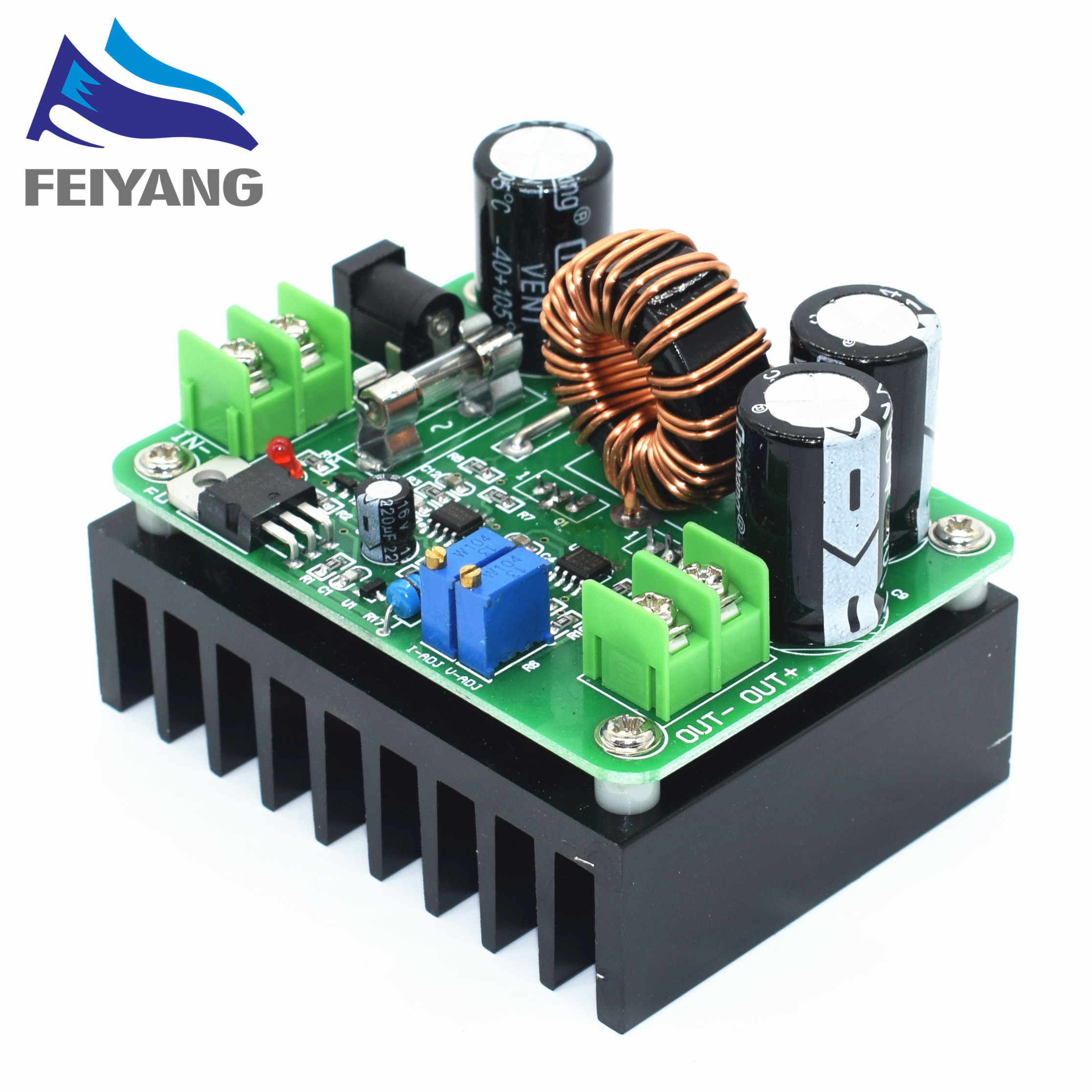 1pcs DC DC 600W 10 60V To 12 80V Boost Converter Step Up Module Car Power