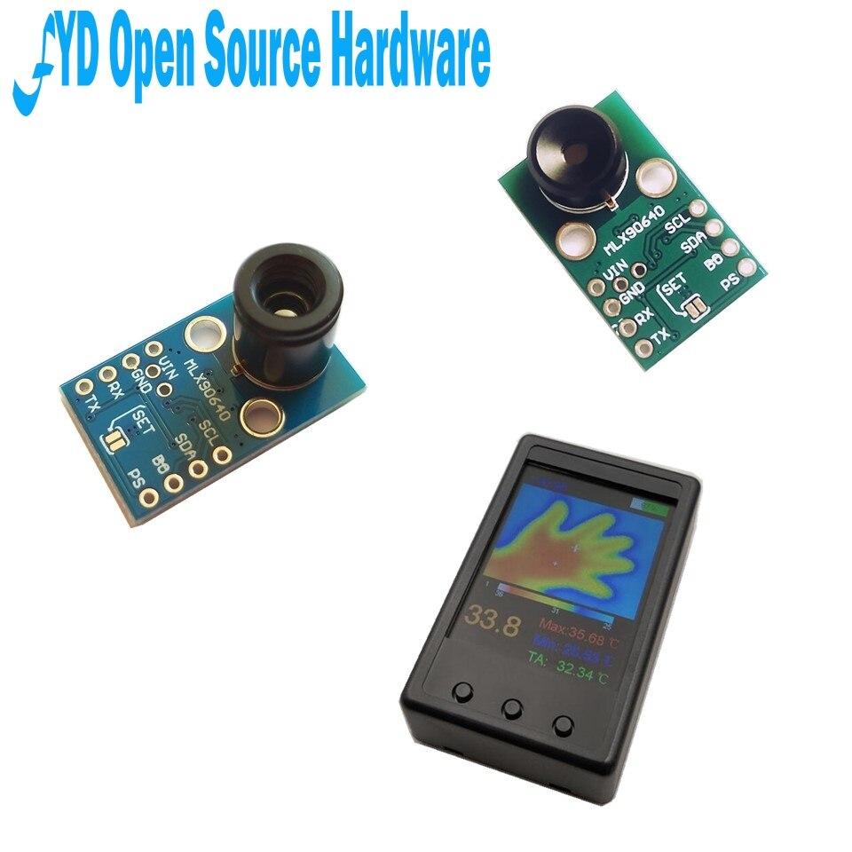 1 pièces GY-MCU90640 MLX90640 IR 32*24 Module de caméra de capteur à matrice de points thermométrique infrarouge