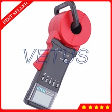 Big sale Digital Clamp-on Ground measurement 0.01-1200ohm ETCR2100+ Earth Resistance Tester with Clamp Size 32mm alarm function