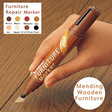8Color 2-5MM Wood Furniture Floor Tables Chairs Remover Scratch Repair Cloth Paint Marker For Mending Concealer Light Dark Color