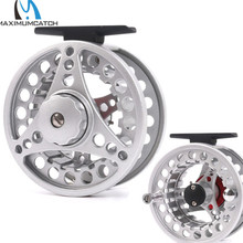 Maximumcatch Brand High Quality Fly Fishing Reel 3-8WT Die-casting Large Arbor Aluminum Fly Reel