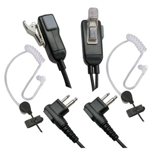 Image 3 - RLGVQDX 2 Pin Mic kulaklık Walkie Talkie kulaklık Motorola kulaklık ile uyumlu radyo cihazları 2 adet