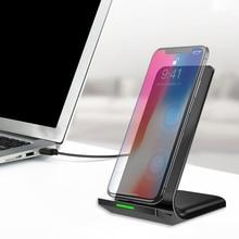 10 Вт Qi Беспроводной Зарядное устройство для samsung S9 S8 S7 S6 Edge Note 8 для iPhone X, 8, 8 Plus, LG sony Nexus4 5 6 Беспроводной быстро Зарядное устройство Держатель