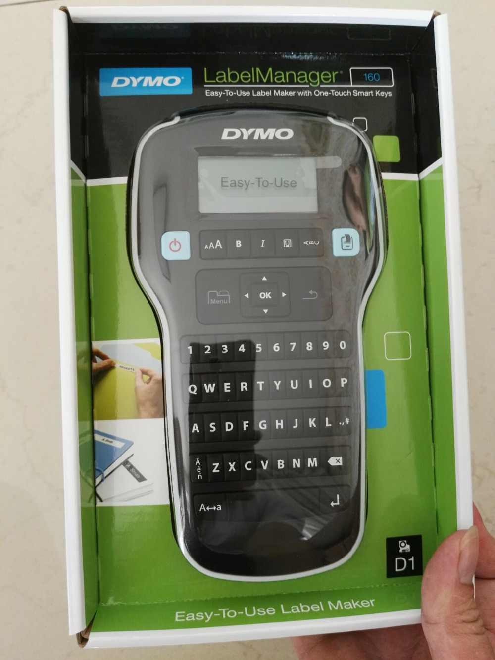LM-160 English hand-held portable label printer LMR-160 stickers label printer LM160 For DYMO LM- 160