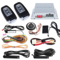 Remote start & push button start stop PKE psssive keyless entry car alarm system with  touch password entry auto lock unlock