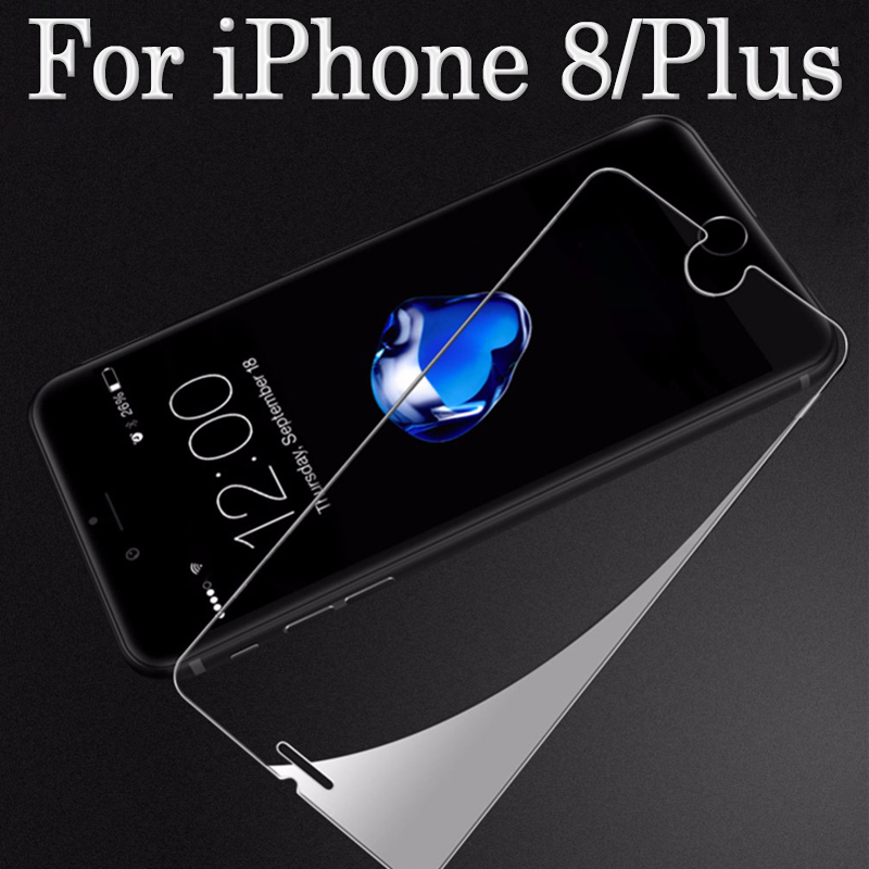 For iphone 8 Plus Glass Protection For iphone8 Screen Protector On iph iohone 8Plus armor iphon i pone Protective Tremp Glasses(China)