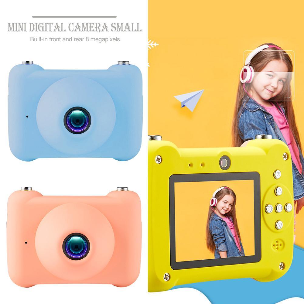 Six-generation Childrens Mini Digital Camera Small Single-reflex Double Lens Camera ToySix-generation Childrens Mini Digital Camera Small Single-reflex Double Lens Camera Toy