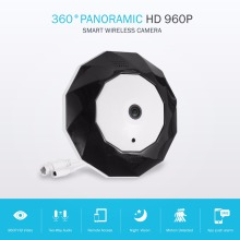 Best price SANNCE 360 Degree Panoramic Camera IP 960P 1.3MP CCTV Home Security IP Camera Wifi Two Way Audio WebCam SD Card Slot Digital PTZ