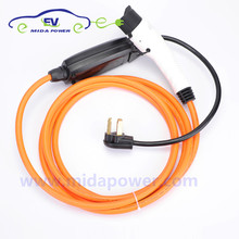 16Amp 5Meter NEMA 10-30 Plug SAE J1772 Type 1 Female EV Connector EVSE Charging Cable Portable For Car