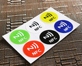 6pcs/lot  Waterproof  6 Colors NFC Stickers Smart Adhesive Ntag213 Tags Compatible with All Phones