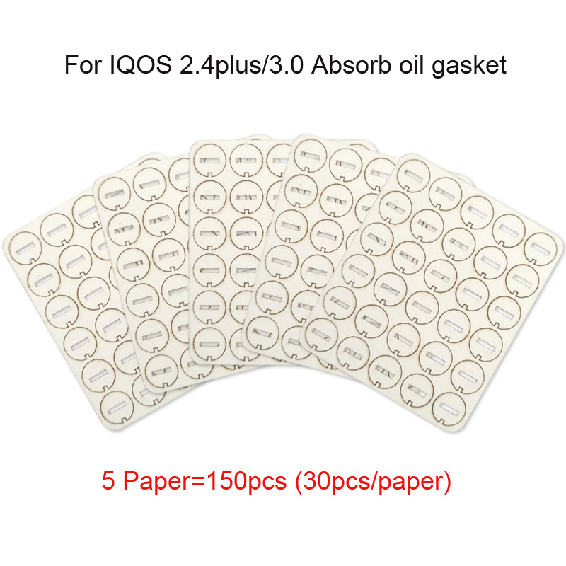 Repair-Accessories Clean-Gasket IQOS Little-Slice for Absorb 5paper Wholesale 150pcs