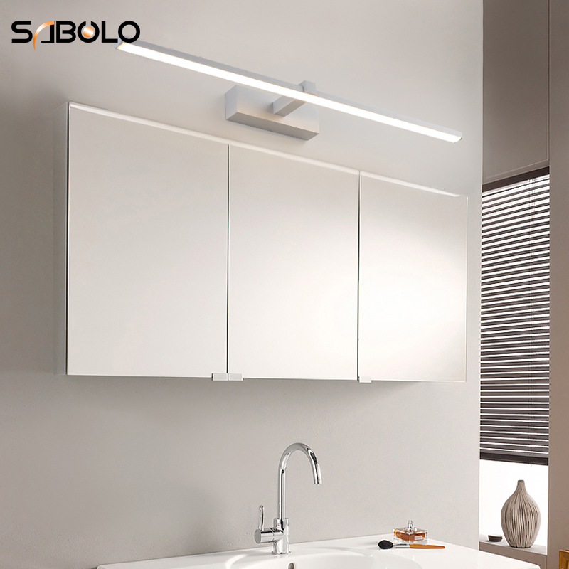 Us 34 05 32 Off Bathroom Mirror Light Led Wall Sconces Indoor Lighting Mounted 40 60 80 100cm In Lamps From