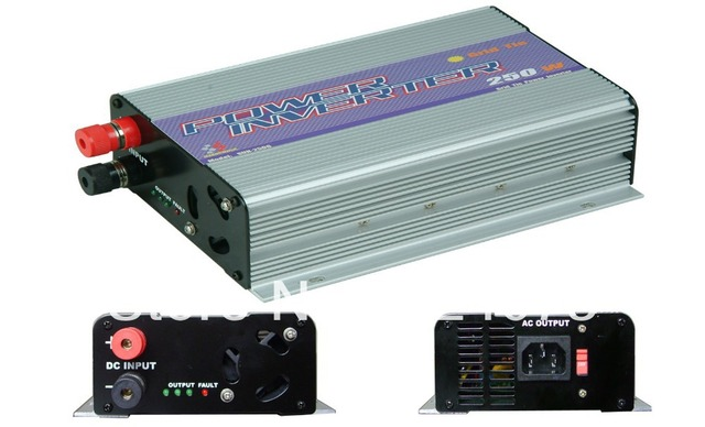 Free shipping,250W Grid Tie Inverter,power inverter,solar inverter (SUN-250G),MPPT Function,Wholesale with coupon