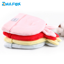 ZMAFOX newborn babies thicken beanie caps cute infant toddler ear warmer hat baby boy girl dual layer combed cotton hats