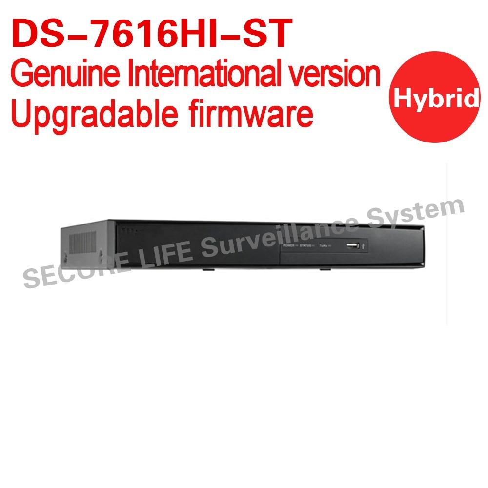 все цены на English version DS-7616HI-ST 16ch embedded Hybrid DVR supporting analog and ip camera 2SATA, HDMI and VGA output онлайн