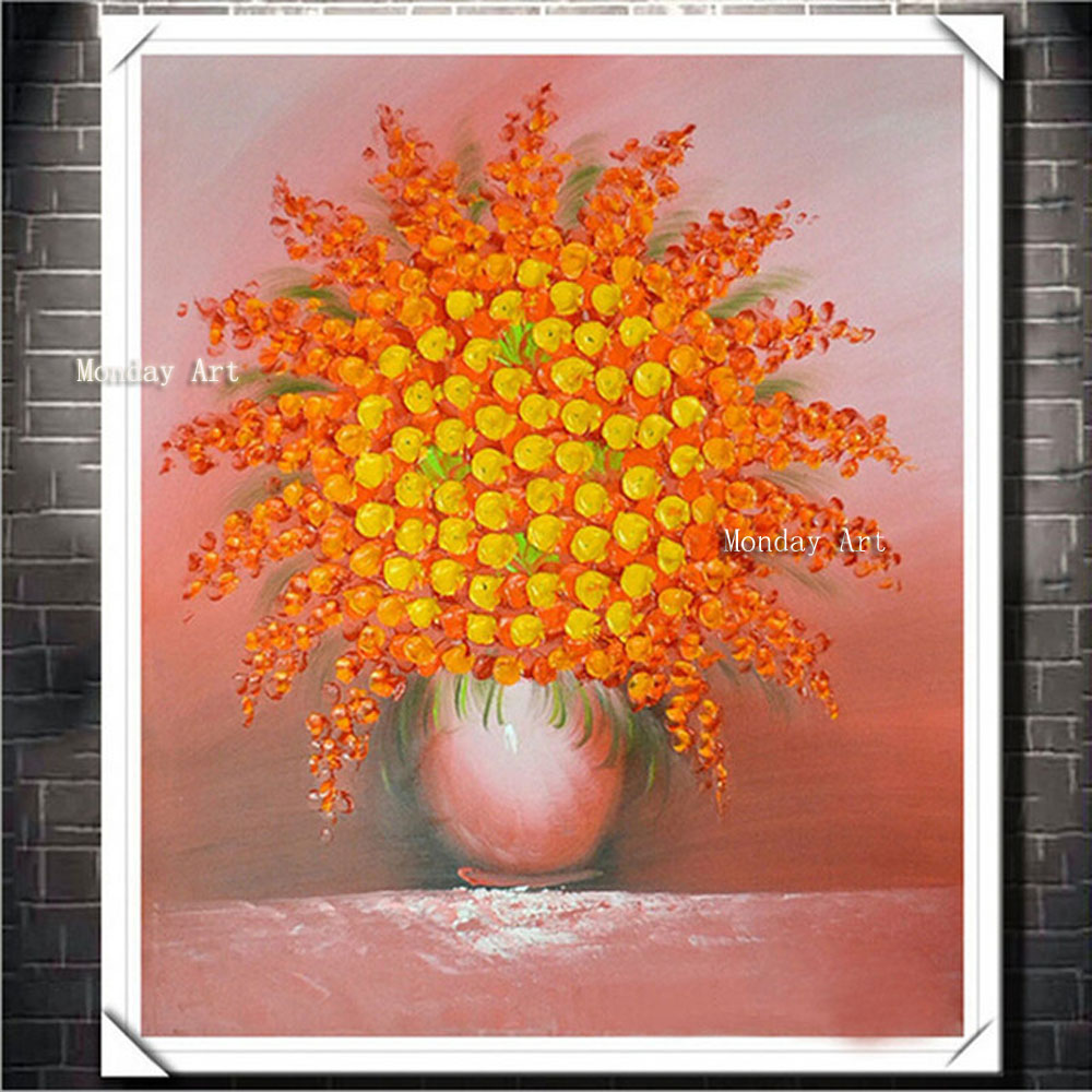 High-Quality-Hand-Painted-Decorative-Colorful-Flower-Oil-Painting-Abstract-Modern-Canvas-Wall-Art-For-Living2