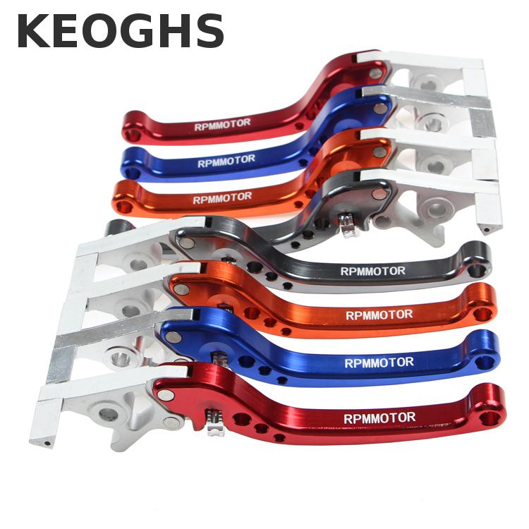 Keoghs Motorcycle Both Brake Master Cylinder Levers Cnc Aluminum Distance Adjustable For Yamaha Scooter Honda Kawasaki Modify keoghs real adelin 260mm floating brake disc high quality for yamaha scooter cygnus modify