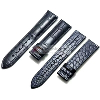 Customized Watch Strap Double Side Crocodile Watchbands Handmade for You Custom Replacement Luxury Alligator Watch Band EE14