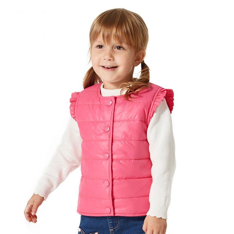 baby waistcoat winter outerwear hight quality children vest cotton vest girls brand child outerwear children s