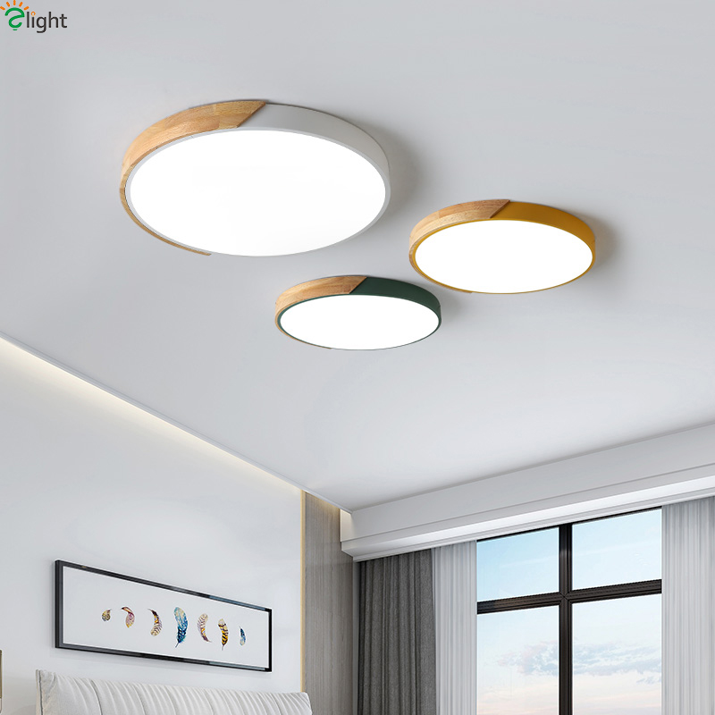Nordic Oak App Dimmable Led Ceiling Lights Living Room Round Multicolor Alloy Led Ceiling Lamp Bedroom Nordic Oak App Dimmable Led Ceiling Lights Living Room Round Multicolor Alloy Led Ceiling Lamp Bedroom Led Ceiling Light Fixture