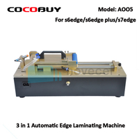 NOVECEL AO05 3 in 1 Otomatik eğrisi LCD ekran ve OCA vakum Laminasyon Makinesi Için S6 kenar S7 kenar vb LCD ekranlar laminar