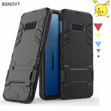 For Samsung Galaxy S10 Lite Case Armor Phone Holder Anti-knock Cover
