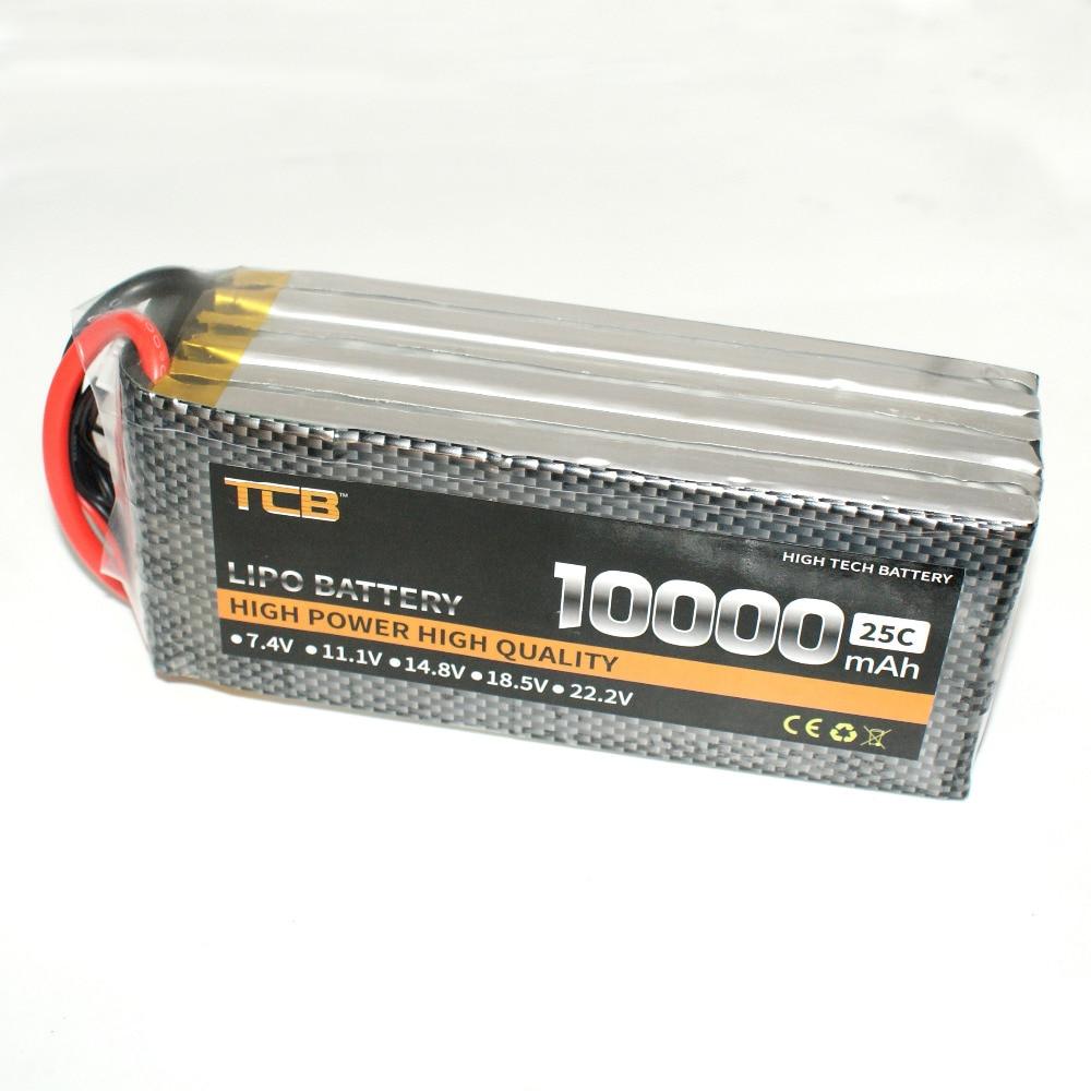free shipping Lipo battery 6S 22.2 V 10000 mAh 25c for RC airplane вольтметр 50v 50a lifepo4 lipo tf01n