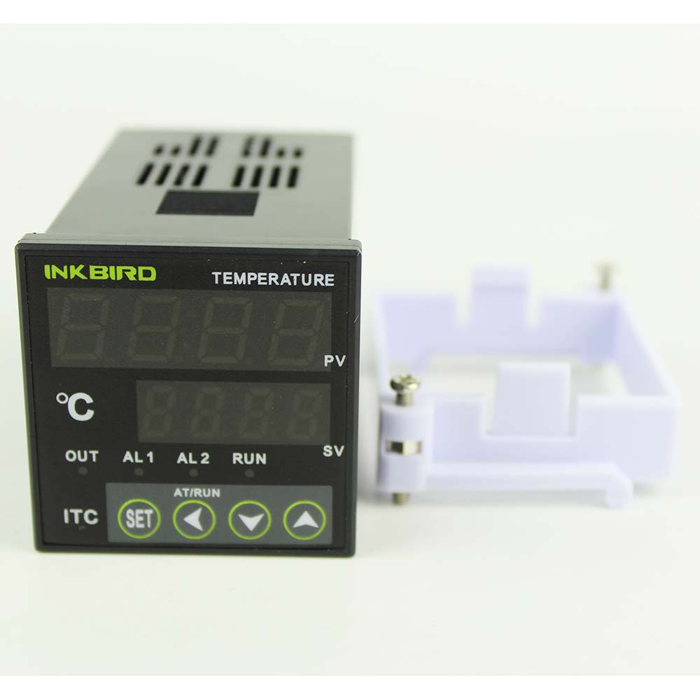 US $32 29 |Inkbird PID Temperature controller Thermostat AC 100 220V ITC  100VH+K Sensor +40A SSR For Home Brewing,Carboy,Green House-in Temperature