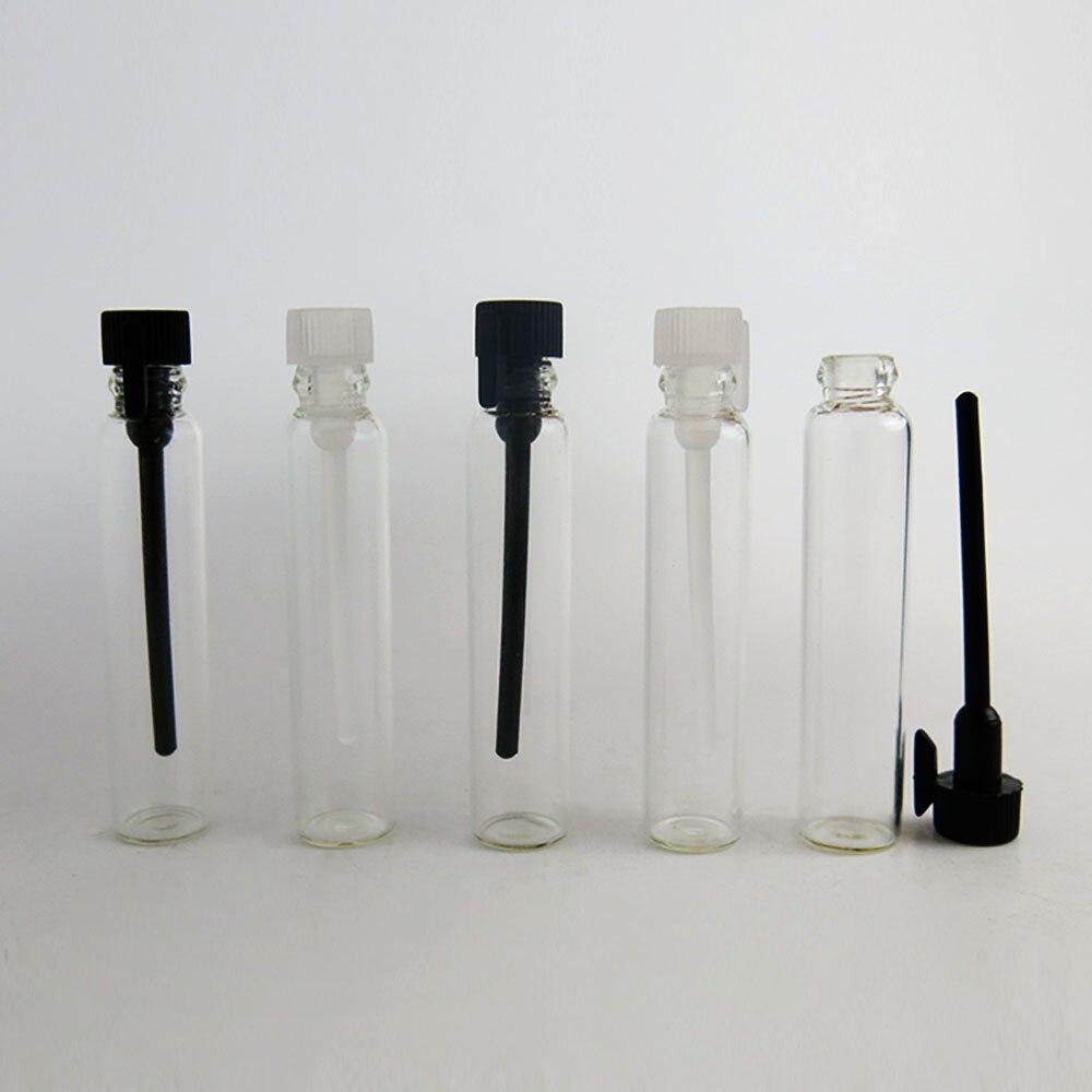 Förderung!! 100x2 ml parfüm glas flasche 2cc parfum probe fläschchen reagenzglas 2 ml duft flasche öl probe container