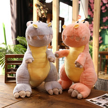 Cute Plush Toys Dinosaur Soft Stuffed Animals Dolls Toys Kids Birthday Gift New Cute 35cm funny dinosaur plush toy(China)