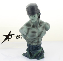 Shanks & Roronoa Zoro Statue Action Figure Bust Head 16cm