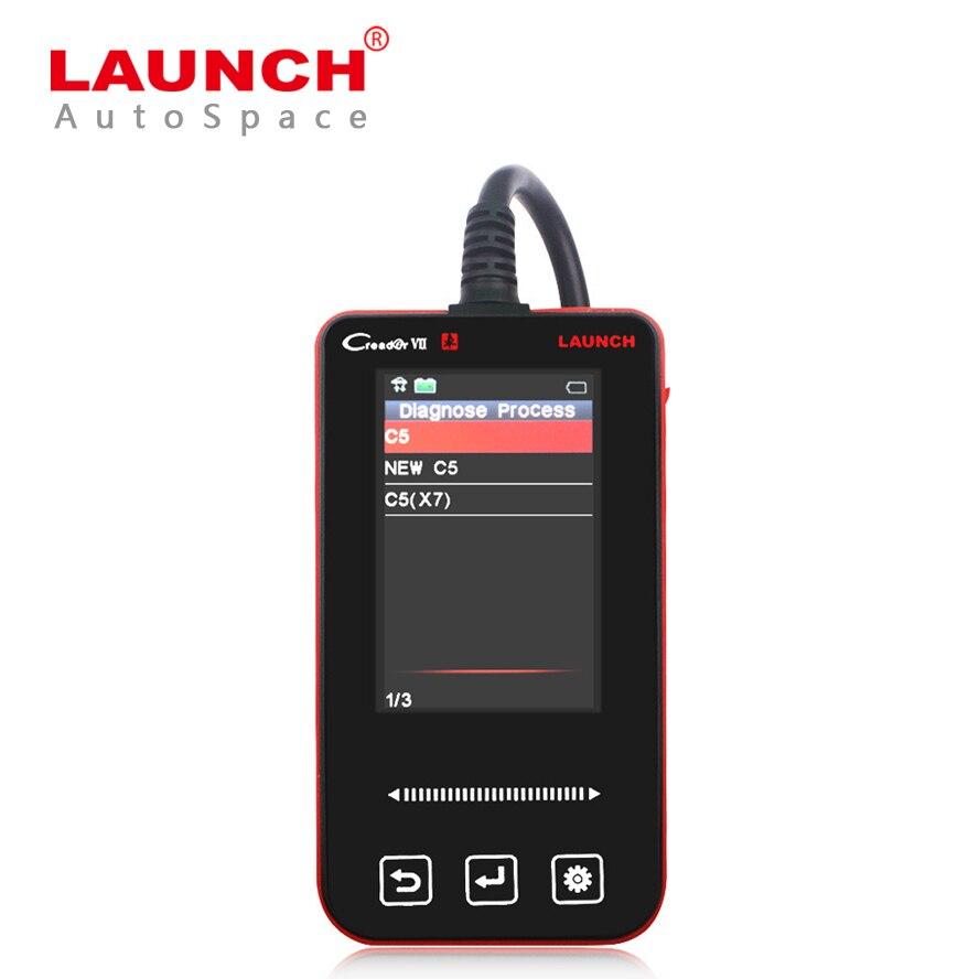 Prix pour Launch Creader VII 7 Voiture ABS BSI SRS Audio D'alarme Réinitialisation Complète Du Système Lecteur Scanner Outil De Diagnostic Pour Citroen C3/C4/C5/Picasso