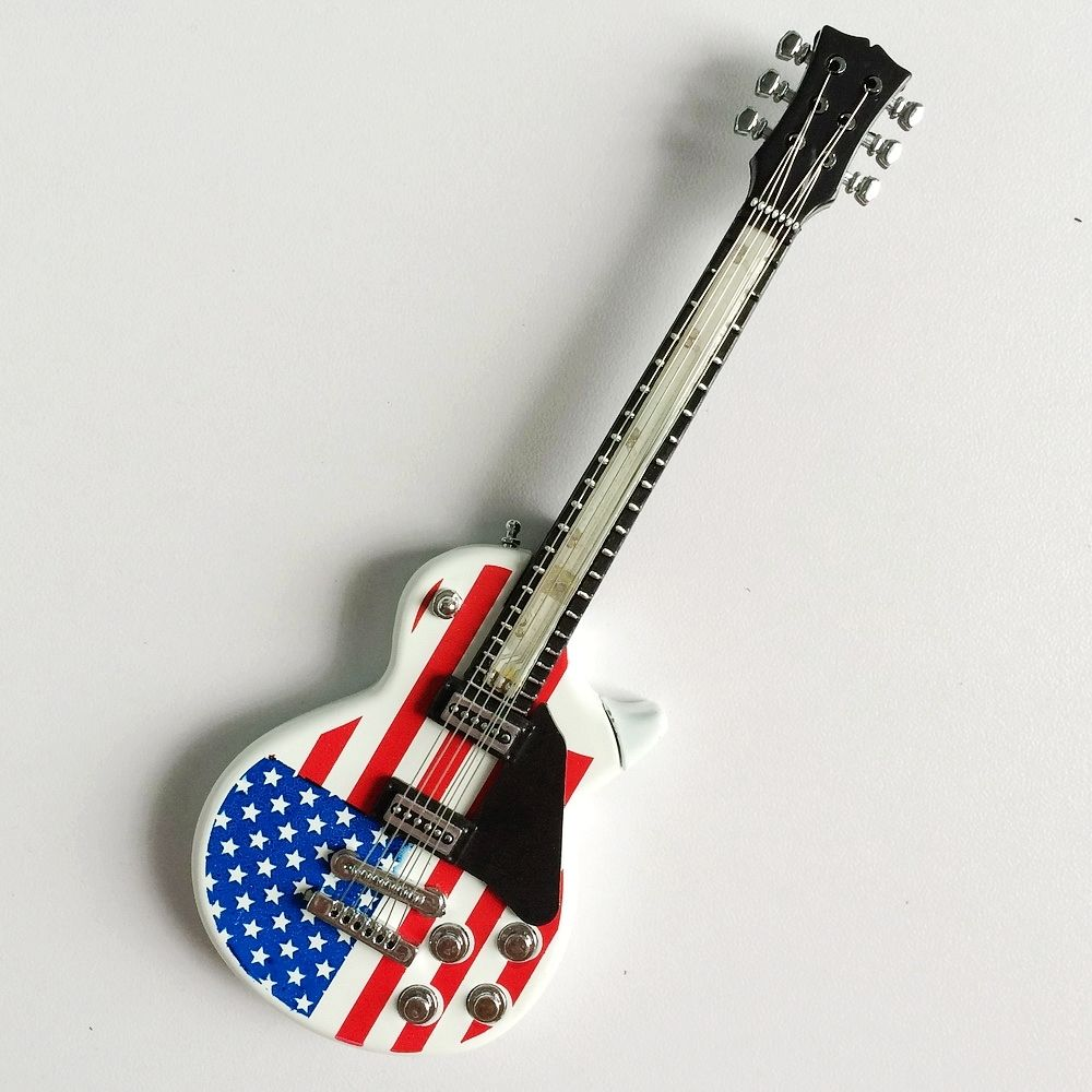 Mini Star Spangled Banner Exquisite Guitar For 1/4&1/6 SD MSD BJD Super Dollfie