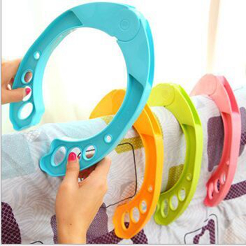 Hot Laundry Clothes Pins Color Hanging Pegs Clips Heavy Duty Clothes Pegs Plastic Hangers Racks Clothespins 4PCS