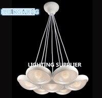 Бесплатная доставка 21 Вт 7 голов светодиодный кремния подвесной светильник кухня ресторан Ультра яркий свет без Strobe хорошо тепла рассеивае