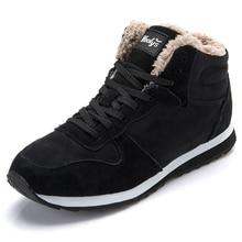 Мужские ботинки Обувь Мужские зимние сапоги мужская зимняя обувь Ботильоны флоковые кожаные сапоги Обувь зимняя обувь черный