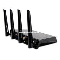 Оригинальный идеальный работа для RT AC87U 802,11 AC2400Mbps двухдиапазонный гигабитный маршрутизатор Беспроводной Wi Fi маршрутизатор с 4x4 MU MIMO антенны