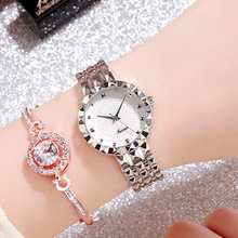 цены Top Luxury Rhinestone Women Watches Fashion Women Rose Gold Bracelet Casual Dress Watch Ladies Quartz Watch Clock reloj mujer
