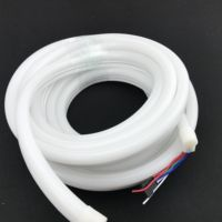 10mm*23mm size/ cambered surface/ 5m long/ 60pixels/m/ DC12V WS2815 addressable pixel rgb neon strip light;IP65 rated;72W