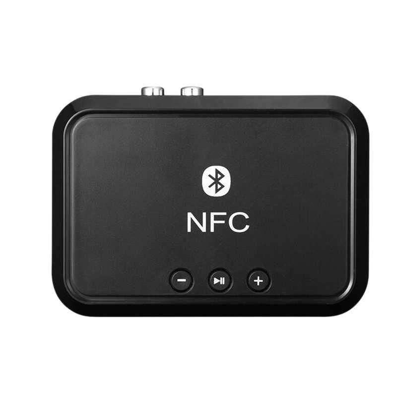 Портативный Nfc Bluetooth стерео аудио приемник адаптер с поддержкой Nfc 3,5 мм/RCA выход Музыка звук для телефона автомобильный динамик усилитель